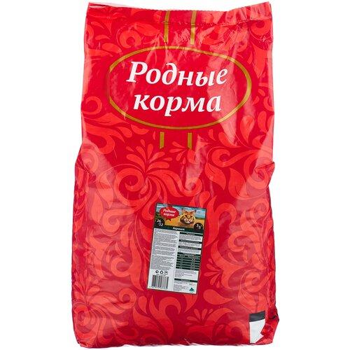 Сухой корм для кошек Родные корма с бараниной 10 кг