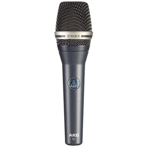 Микрофон AKG D7, dark stage blue