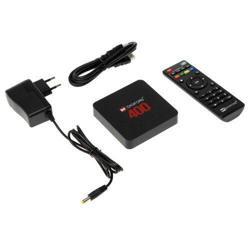 Приставка Смарт ТВ Digifors Smart 400, 2Гб, 16Гб, Android, 4K, Wi-Fi, HDMI, черная 4870453