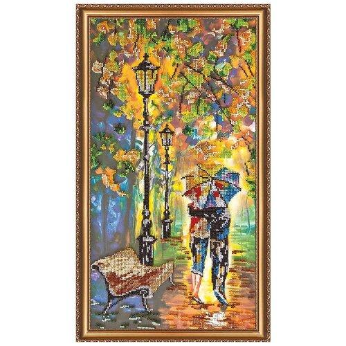 Купить АВ-192 Набор для вышивания бисером 'Абрис Арт' 'Цветное настроение', 25*50 см, ABRIS ART, Наборы для вышивания