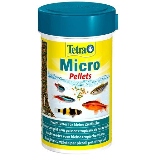 Фото - Сухой корм для рыб Tetra Micro Pellets 100 мл 46 г сухой корм для рыб dajana pet betta 100 мл 25 г
