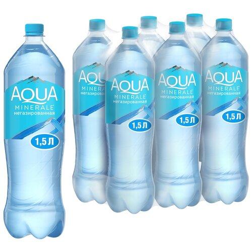 Фото - Вода питьевая Aqua Minerale негазированная, ПЭТ, 6 шт. по 1.5 л вода питьевая aqua minerale негазированная 2 л
