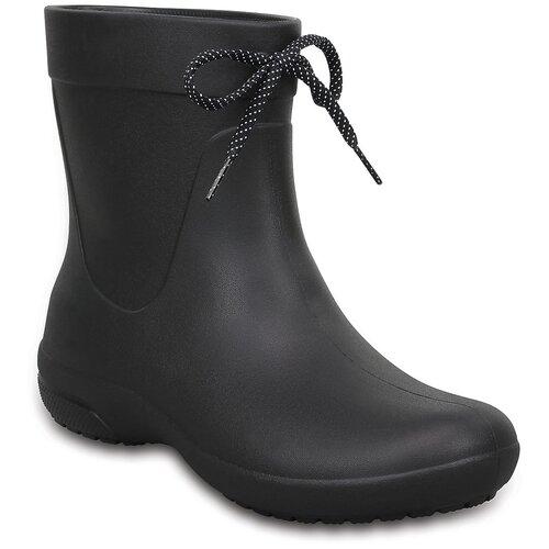 Резиновые сапоги Crocs Women's Freesail Shorty Rain Boots, размер 36(W6), black