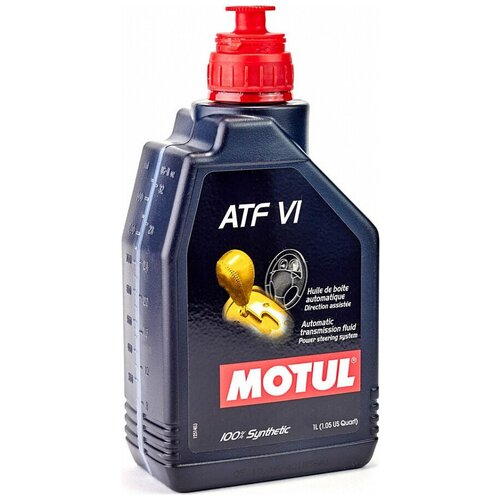 Коробка передач масло Motul ATF VI 1 л трансмиссионное масло motul atf vi 1 л