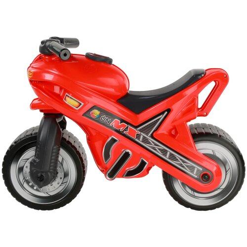 где купить Каталка-толокар Полесье Мотоцикл МХ красный дешево