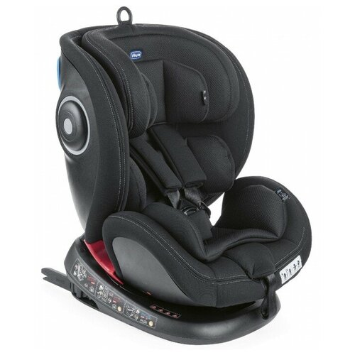 Автокресло группа 0/1/2/3 (до 36 кг) Chicco Seat 4Fix, black автокресло переноска группа 0 до 13 кг chicco kaily black