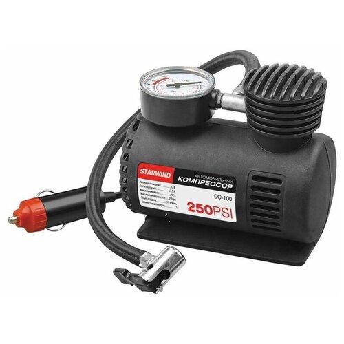 Автомобильный компрессор STARWIND CC-100 черный