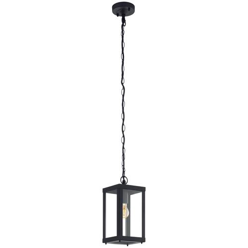 Eglo Подвесной светильник Alamonte 1 94788, E27, 60 Вт, цвет арматуры: черный, цвет плафона бесцветный светильник eglo obregon 95384 e27 60 вт