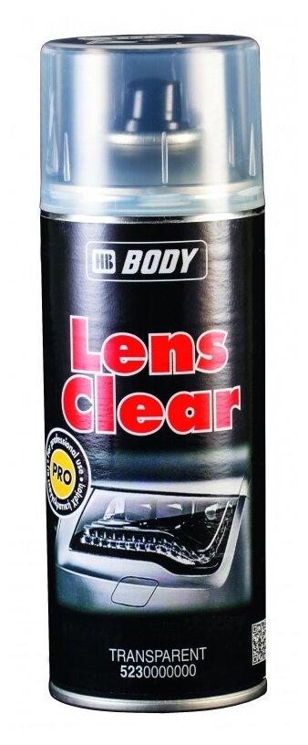 Аэрозольный автомобильный лак HB BODY Lens Clear