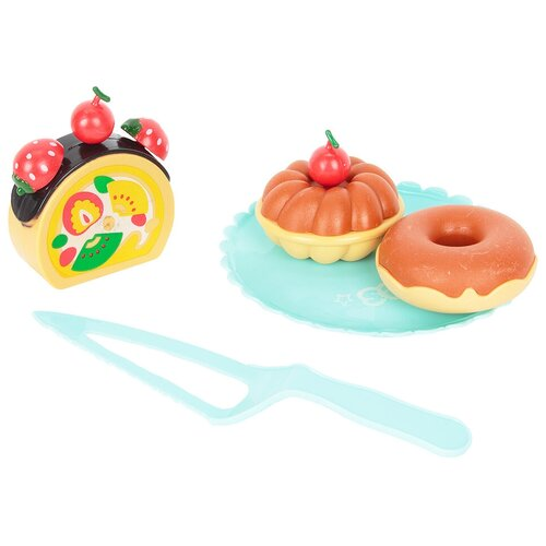 набор продуктов с посудой mary Набор продуктов с посудой Mary Poppins Лакомка 453047 разноцветный