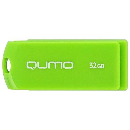 Фото - Флешка Qumo Twist 32 GB, фисташковый флешка qumo twist 32 gb фиолетовый