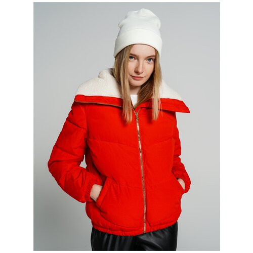 Куртка на синтепоне ТВОЕ A6548 размер M, красный, WOMEN