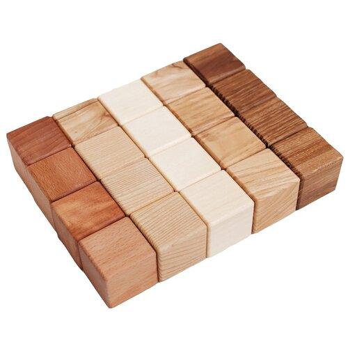 Купить Кубики из разных пород дерева Тикко, TIKKO, Детские кубики