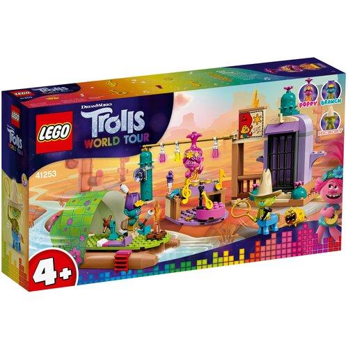 Конструктор LEGO Trolls World Tour 41253 Приключение на плоту в Кантри-тауне, Конструкторы  - купить со скидкой