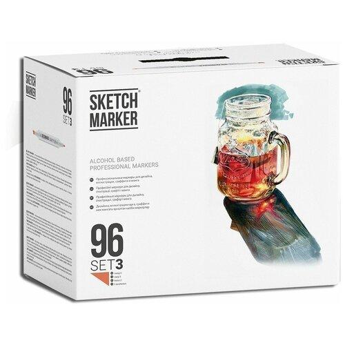 Купить SketchMarker Набор маркеров Set 3, 96 шт., Фломастеры и маркеры