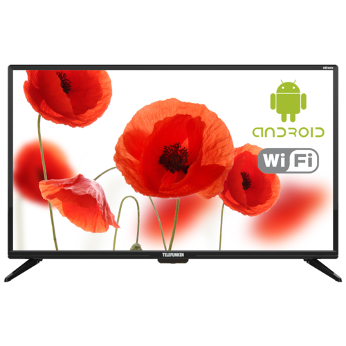 Телевизор TELEFUNKEN TF-LED32S87T2S 31.5 (2019), черный