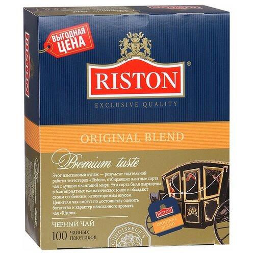 Чай черный Riston Original Blend в пакетиках, 100 шт.