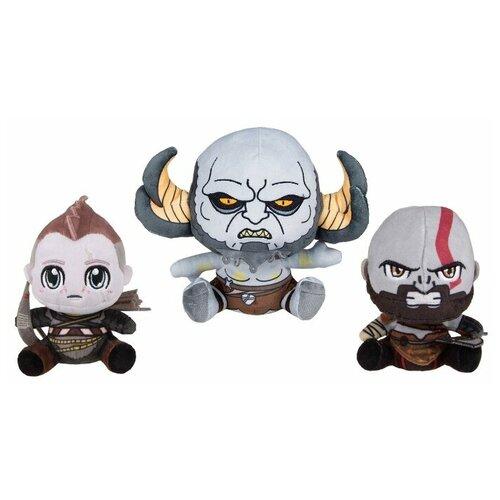 Набор мягких игрушек Gaya Stubbins Plush God Of War: Kratos & Atreus & Troll