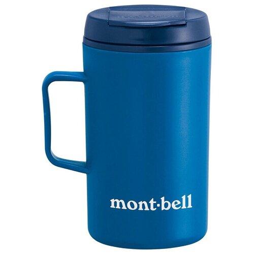 Термокружка MontBell Termo Mug MB Logo, 0.33 л синий