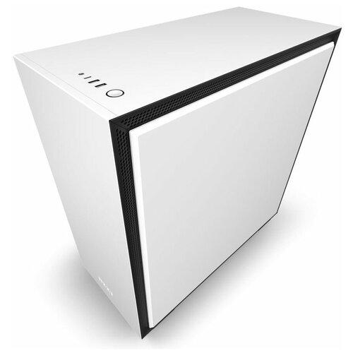 Компьютерный корпус NZXT H710 White/black