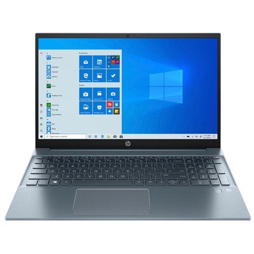 Фото - Ноутбук HP Pavilion 15-eg0050ur (Intel Core i3 1115G4 3000MHz/15.6/1920x1080/8GB/512GB SSD/Intel UHD Graphics/Windows 10 Home) 2X2S3EA, приглушенный синий/светло-синий ноутбук hp pavilion 15 eg0047ur intel core i3 1115g4 3000mhz 15 6 1920x1080 8gb 512gb ssd intel uhd graphics windows 10 home 2x2s2ea темно бирюзовый светло бирюзовый