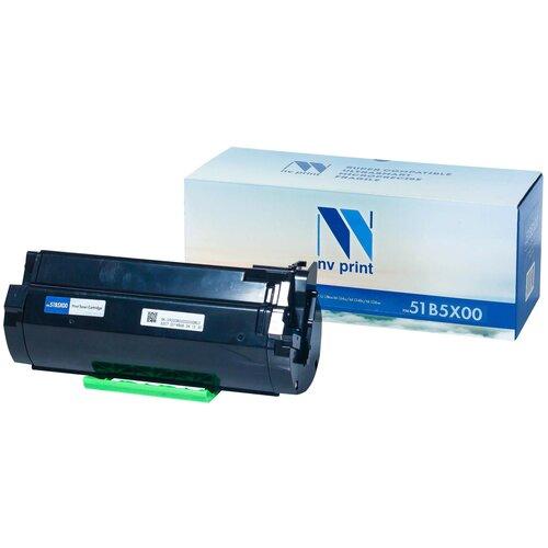 Фото - Картридж NV Print 51B5X00 для Lexmark, совместимый картридж nv print c950x2kg для lexmark совместимый