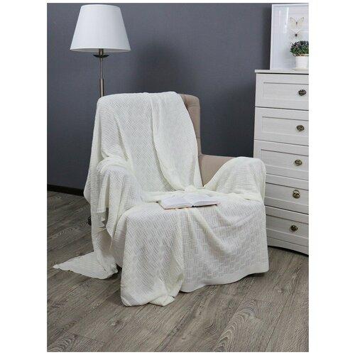 Фото - Плед Buenas noches SV lta Assai 1520, 150 х 200 см, молочный платок женский troll цвет темно синий молочный tsa0345gr размер 150 см х 150 см
