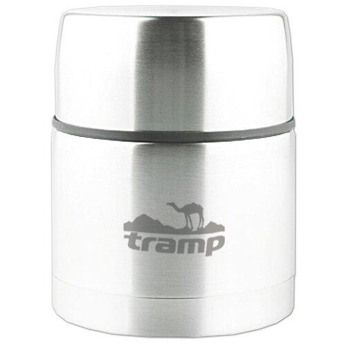 Термос для еды Tramp TRC-077, 0.5 л серый металлик