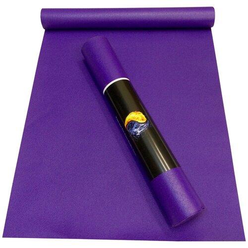 Коврик RamaYoga Yin-Yang Studio, 150х60х0.3 см фиолетовый