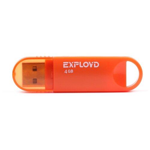 Фото - Флешка EXPLOYD 570 4 GB, orange мантоварка росинка рос 307