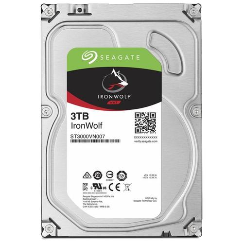 Жесткий диск Seagate IronWolf 3 TB ST3000VN007 жесткий диск seagate ironwolf 3 tb st3000vn007