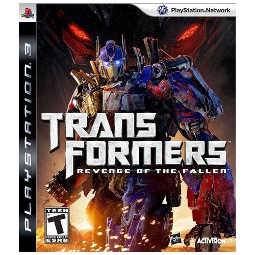 Игра для PlayStation 3 Transformers: Revenge of the Fallen, полностью на русском языке