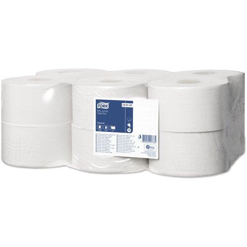 туалетная бумага tork advanced 120231 12 рул Туалетная бумага TORK Universal T2 1-слойная 120197 12 рул.