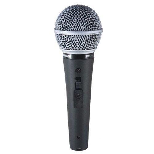 Shure SM48S Вокальный кардиоидный динамический микрофон с переключателем