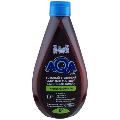 AQA baby Готовый травяной сбор для малыша Здоровая кожа, 400 мл