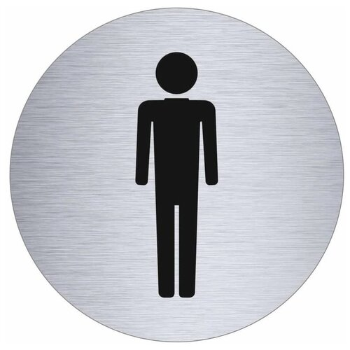 Табличка Metabo на дверь мужской туалет