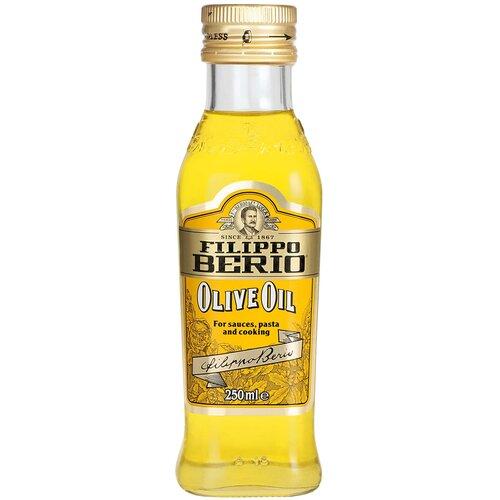 Filippo Berio масло оливковое, стеклянная бутылка, 0.25 л