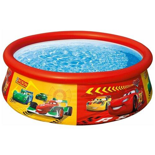 Фото - Детский бассейн Intex Cars Easy Set 28103 детский бассейн intex 229х229х66cm 56475