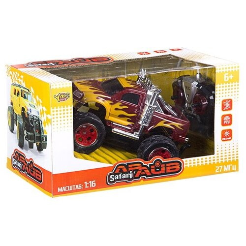Фото - Радиоуправляемый джип YAKO FullFunc. Safari Драйв, арт. 6144R (М81627) радиоуправляемые игрушки yako радиоуправляемый джип fullfunc