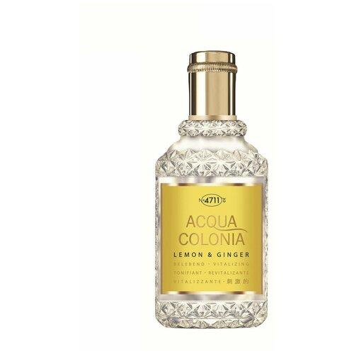 Купить Одеколон 4711 Acqua Colonia Lemon & Ginger, 50 мл