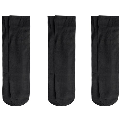 Носки под коленом 3 шт Titus Черный