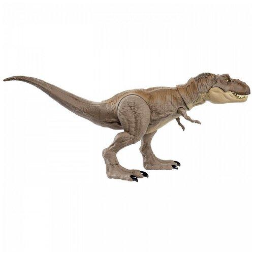 Купить Фигурка Mattel Jurassic World Тираннозавр Рекс GLC12, Игровые наборы и фигурки