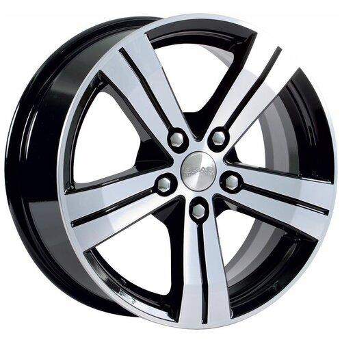 Фото - Колесный диск SKAD Мицар 6.5x16/5x112 D66.6 ET38 Алмаз диск колесный скад мицар 6 5xr16 5x112 et38 цо67 1 серебристый 0350408