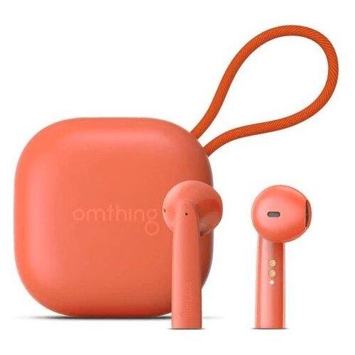 Беспроводные наушники 1MORE AirFree Pods EO005, orange наушники беспроводные 1more omthing airfree pods true wireless headphones black eo005 black