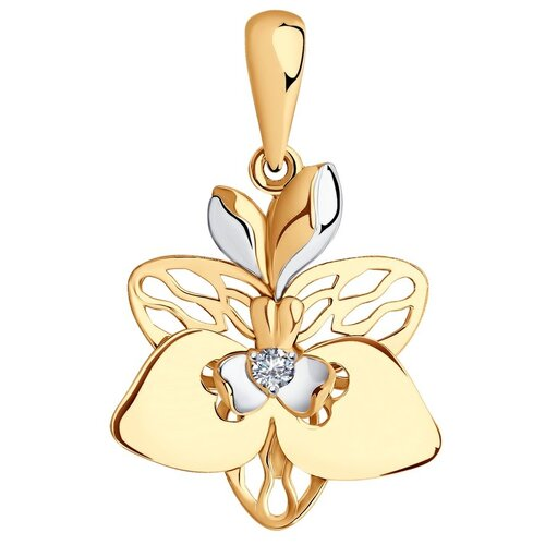 SOKOLOV Подвеска из золота с фианитом 036142