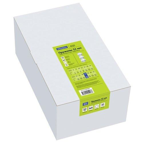 Фото - Пружина OfficeSpace пластиковые 32 мм белый 50 шт. пружина officespace пластиковые 22 мм белый 50 шт