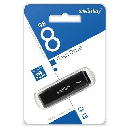 Фото - Флешка SmartBuy LM05 USB 3.0 8 GB, 1 шт., черный флешка promega jet high speed 8 gb 1 шт черный