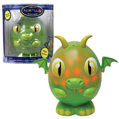 Фото - Ночник 1 TOY Лампики Дракон Т16363 (банка), цвет арматуры: зеленый, цвет плафона: разноцветный ночник 1 toy лампики попугай т16360 коробка