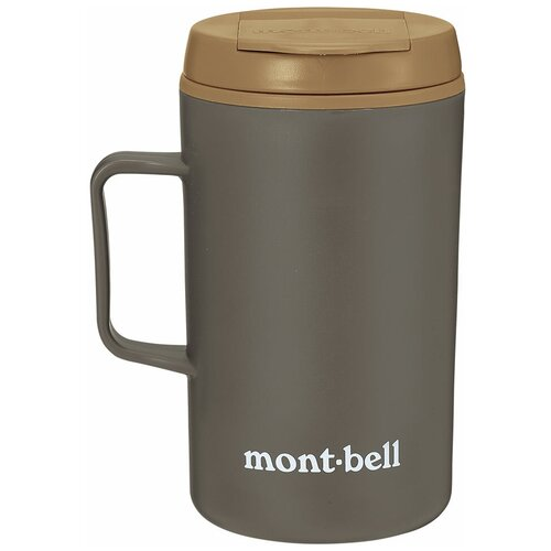 Термокружка MontBell Termo Mug MB Logo, 0.33 л коричневый