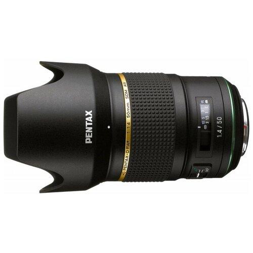 Фото - Объектив Pentax D FA* 50mm f/1.4 SDM AW черный объектив pentax d fa 85mm f1 4 ed sdm aw черный